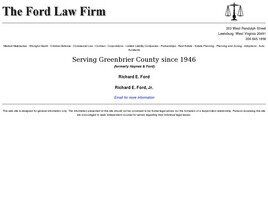 The Ford Law Firm PLLC (Lewisburg,  WV)