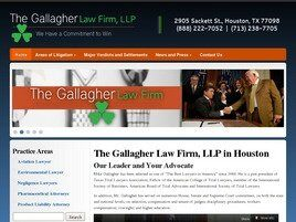 The Gallagher Law Firm, LLP (Houston,  TX)