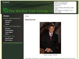The Hecker Law Group, PLC(Los Angeles, California)