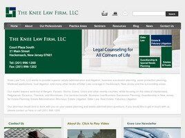The Knee Law Firm, L.L.C. ( Hackensack,  NJ )