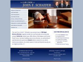 The Law Firm of John F. Schaefer ( Bloomfield Hills,  MI )