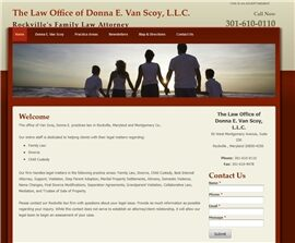 The Law Office of Donna E. Van Scoy, L.L.C. ( Silver Spring,  MD )