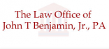 The Law Office of John T. Benjamin, Jr., P.A. (Wake Co.,   NC )