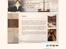 The Law Office of Lisa M. Pacione (Lancaster,  CA)