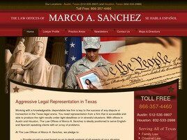 The Law Office of Marco Sanchez (Round Rock,  TX)