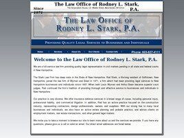 The Law Office of Rodney L. Stark, P.A. (Hillsborough Co.,   NH )