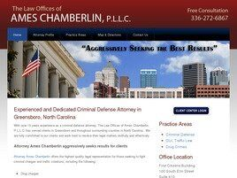 The Law Offices of Ames Chamberlin, P.L.L.C. (Greensboro,  NC)