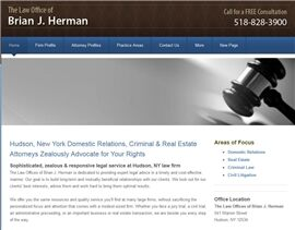 The Law Offices of Brian J. Herman ( Hudson,  NY )