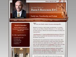 The Law Offices of David S. Bouschor, II, P.C. (Denton,  TX)