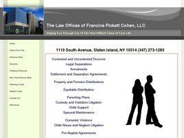 The Law Offices of Francine Pickett Cohen, LLC ( Staten Island,  NY )