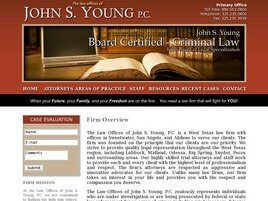 The Law Offices of John S. Young, P.C. (Sweetwater, Texas)