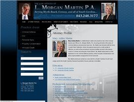 The Law Offices of L. Morgan Martin P.A. (Florence,  SC)