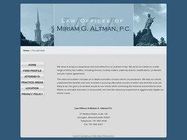 The Law Offices of Miriam G. Altman, P.C. ( Lexington,  MA )