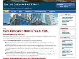 The Law Offices of Paul S. Nash (Irvine,  CA)