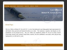 The Law Offices of Robert W. Gevers II P.C. (Fort Wayne,  IN)