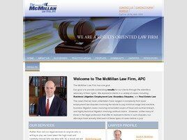 The McMillan Law Firm, APC (San Diego Co.,   CA )