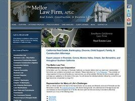 The Mellor Law Firm, APLC ( Riverside,  CA )