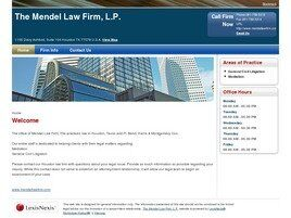 The Mendel Law Firm, L.P. (Houston, Texas)