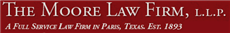 The Moore Law Firm, L.L.P. ( Bonham,  TX )