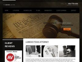 The Moster Law Firm ( Lubbock,  TX )