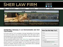 The Sher Law Firm, P.L.L.C. (Galveston,  TX)