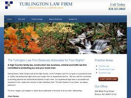 Turlington Law Firm A Professional Corporation (Boone,  NC)