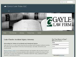 Gayle Law Firm LLC ( Lake Charles,  LA )
