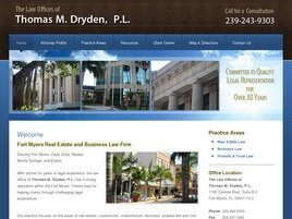 Thomas M. Dryden, P.L.(Fort Myers, Florida)