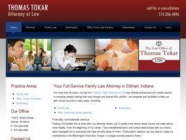Thomas Tokar Attorney at Law ( Goshen,  IN )