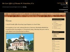 The Law Office of Thomas W. Franchino, P.A. (Naples,  FL)