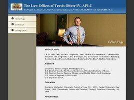 The Law Offices of Travis Oliver IV, APLC ( Monroe,  LA )
