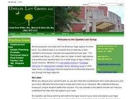 Upstate Law Group LLC ( Easley,  SC )