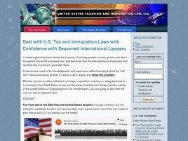 U.S. Tax and Immigration Law, LLC (Boca Raton,  FL)