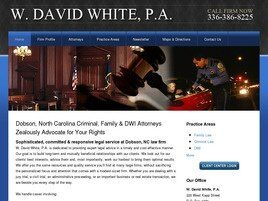 W. David White, P.A. (Dobson, North Carolina)