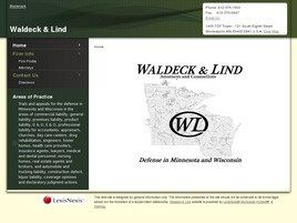 Waldeck Law Firm P.A. (Minneapolis,  MN)