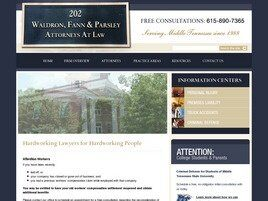 Waldron, Fann & Parsley Attorneys at Law (Murfreesboro, Tennessee)