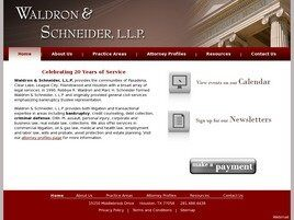 Waldron & Schneider, L.L.P. ( Houston,  TX )