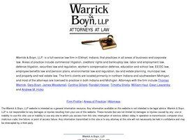 Warrick & Boyn, L.L.P. (Elkhart,  IN)