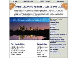 Watson, Caraway, Midkiff & Luningham, LLP (Fort Worth,  TX)