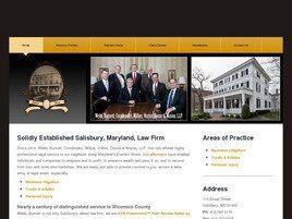 Webb, Burnett, Cornbrooks, Wilber, Vorhis, Douse & Mason, LLP (Salisbury, Maryland)