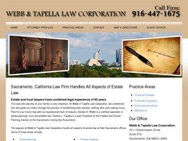 Webb & Tapella Law Corporation (Sacramento,  CA)