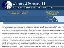 Webster & Partners, P.L. ( Kissimmee,  FL )