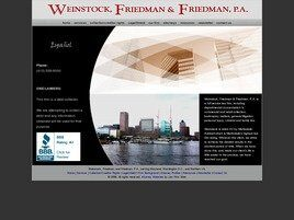 Weinstock, Friedman & Friedman, P.A.(Baltimore, Maryland)
