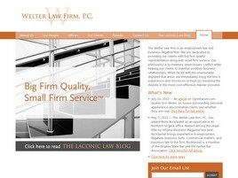 Welter Law Firm, P.C. ( Reston,  VA )