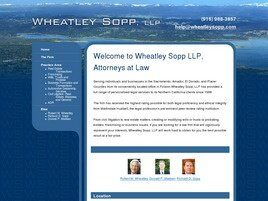 Wheatley, Sopp & Madsen, LLP (Sacramento Co.,   CA )