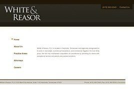 White & Reasor, PLC (Nashville,  TN)