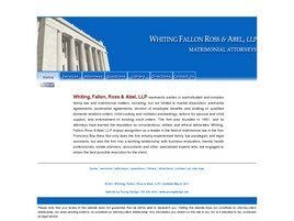 Whiting, Fallon, Ross & Abel, LLP (Walnut Creek, California)