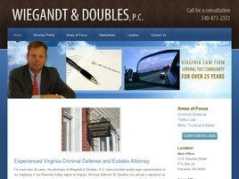 Wiegandt & Doubles, P.C. (Lexington,  VA)