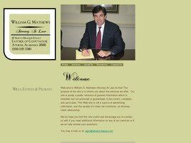 William G. Mathews Attorney at Law ( Decatur,  AL )
