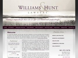 Williams & Hunt A Professional Corporation ( Salt Lake City,  UT )